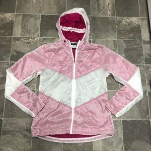 Women's hooded Nike Running Windbreaker Jacket